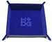 Dice Tray Velvet: Blue