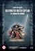 Deathwatch: Watch Captain in Terminator Armour