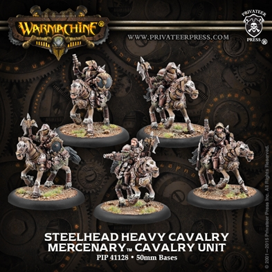 Mercenary: Steelhead Heavy Cavalry