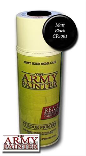 The Army Painter Spray: Matt Black