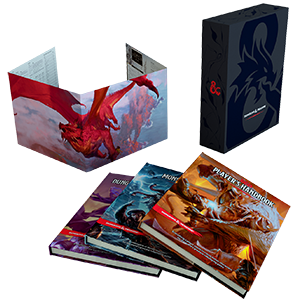 Dungeons & Dragons 5: Core Rulebooks Gift Set