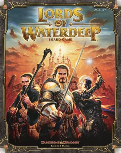 Lords of Waterdeep The Board Game