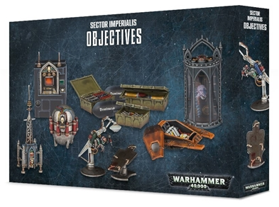 Citadel: Sector Imperialis Objectives