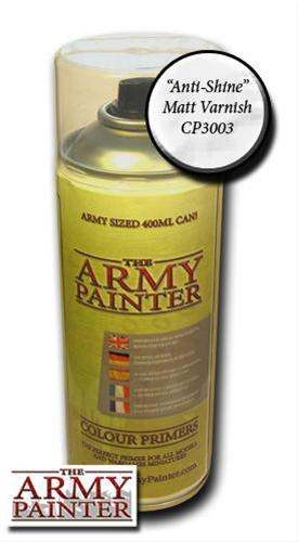 The Army Painter Spray: Anti-Shine Matt Varnish