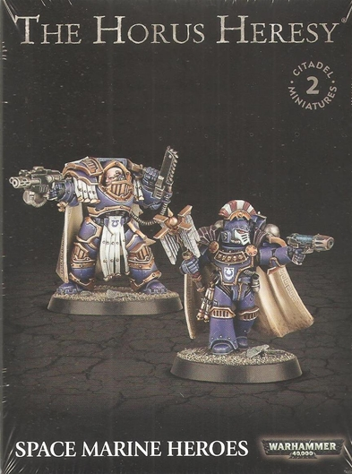 Horus Heresy: Space Marines Heroes