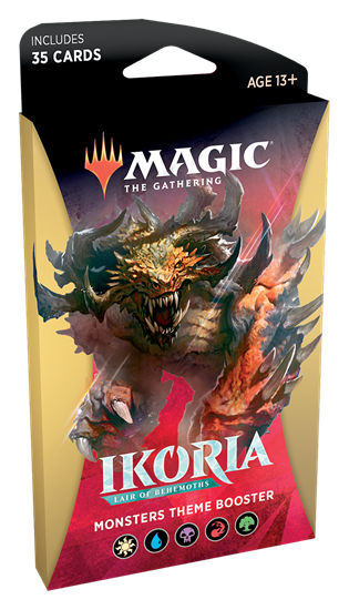 Ikoria Theme Booster: Monsters