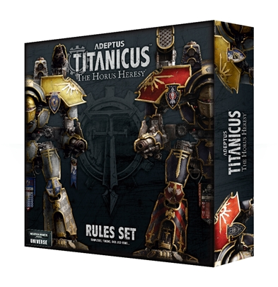 Adeptus Titanicus: The Rules Set