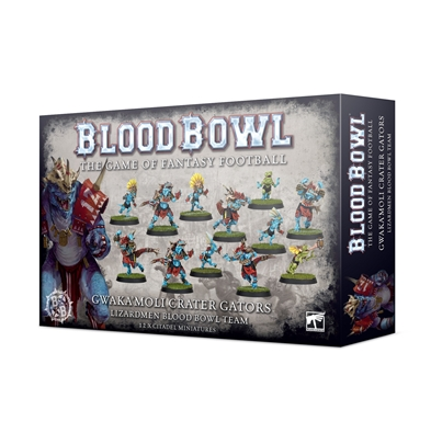Blood Bowl: Gwaka'moli Crater Gators Team