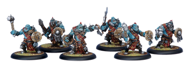 Trollbloods: Kriel Warriors