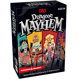 Dungeon Mayhem Card Game