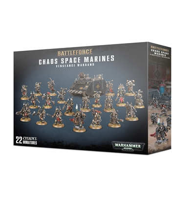 Chaos Space Marines: Vengeance Warband