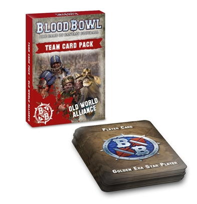 Blood Bowl: Old World Alliance Team Cards