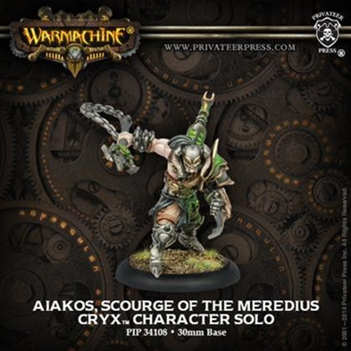 Cryx: Aiakos, Scourge of the Meredius