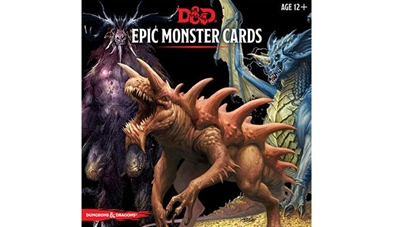 Dungeons & Dragons 5: Epic Monster Cards