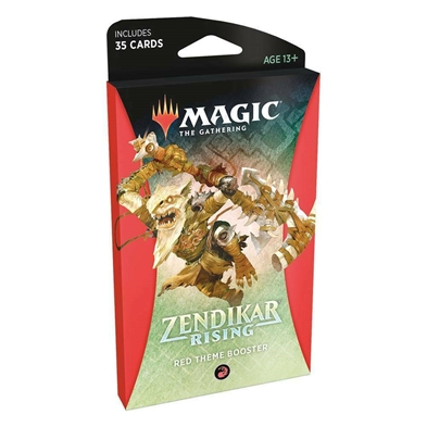 Zendikar Rising Theme Booster: Red PREORDER