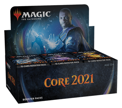 Magic Core 2021 Booster Display (36 pakker)