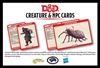 Dungeons & Dragons 5: Creature & NPC Cards